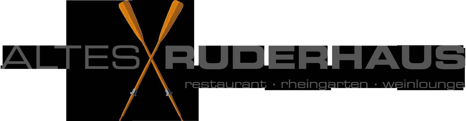 Logo Altes Ruderhaus Restaurant Biergarten